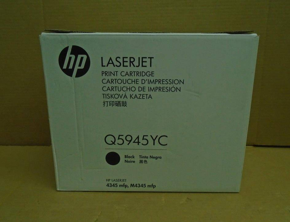 HP Q5945YC TONER CARTRIDGE HP 45A