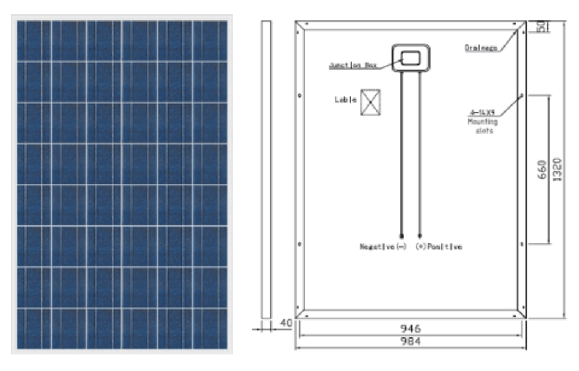royalstar P48 distributed grid connected photovoltaic system