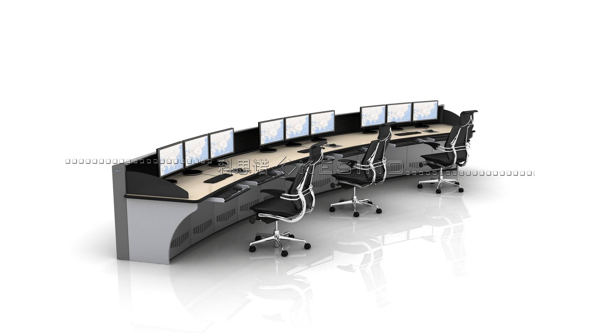 ISO Certified console for the traffic commanding ,office Furniture