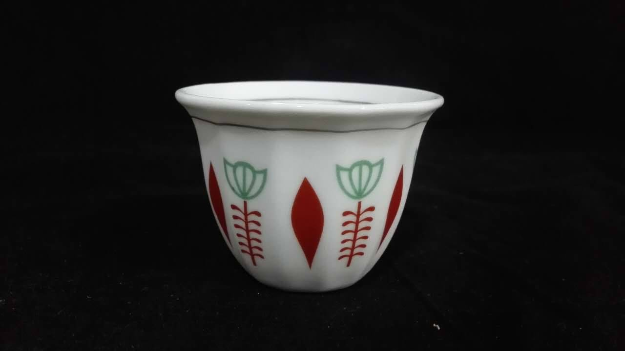 Popular Porcelain Cawa cup for Saudi Arabia