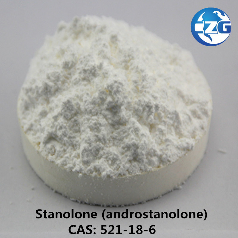 Raw 99% Stanolone /Androstanolone Powder 521-18-6