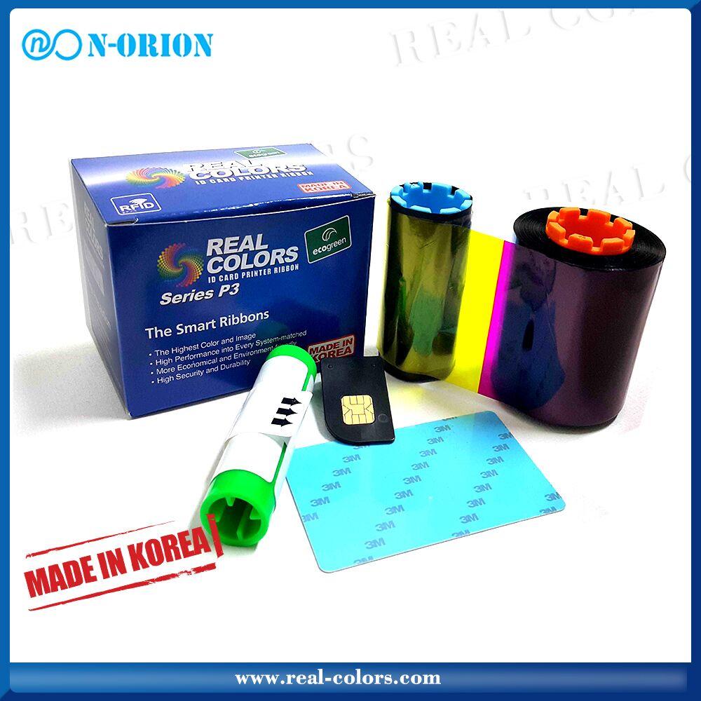 Pcc compatible Hiti K_2000 black ribbon for hiti cs200e/cs220e card printer