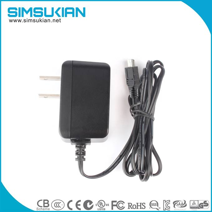 Japan Plug PSE listed 5v 2a ac dc wall munt power adapter