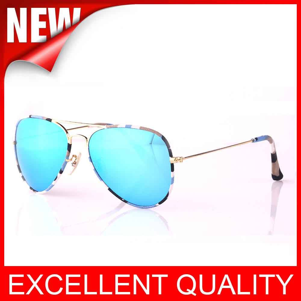 Wholesale AAAAA quality Camouflage Aviator 3025 Sunglasses glasses cheap price