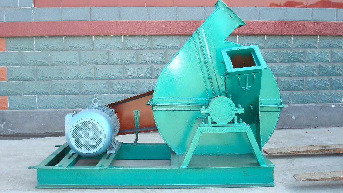 Disc Chipper KJBX-600 with electric motor