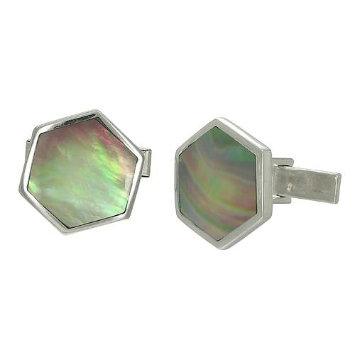 Silver Mens Cufflink Silver Jewellery