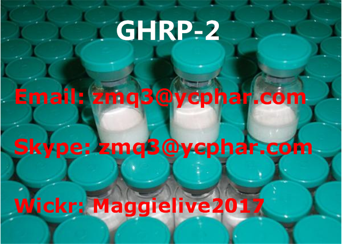 Ghrp 2 Peptide For Muscle Gain 5mg 10mg Vial 158861-67-7 Peptide Powder