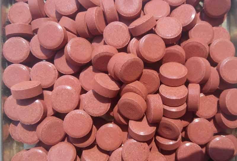 Potassium ferrate Tablet K2FeO4 Potassium Formate Tablet
