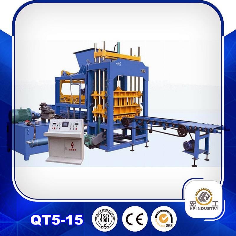 QT5-15 brick making machine brick machinery