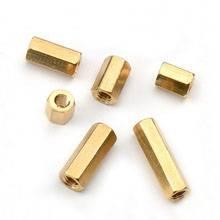 good price brass hex round coupling nut