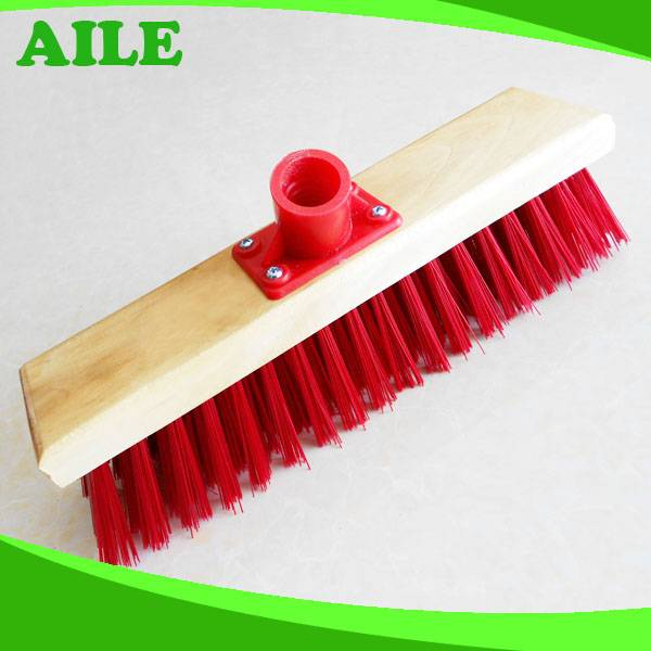 High Quality Wooden Long Handle Floor Cleaning Brush