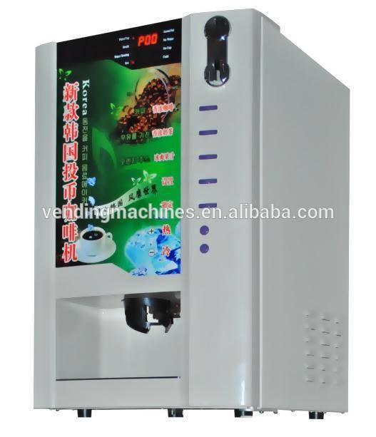 3 hot3cold table top coffee vending machine