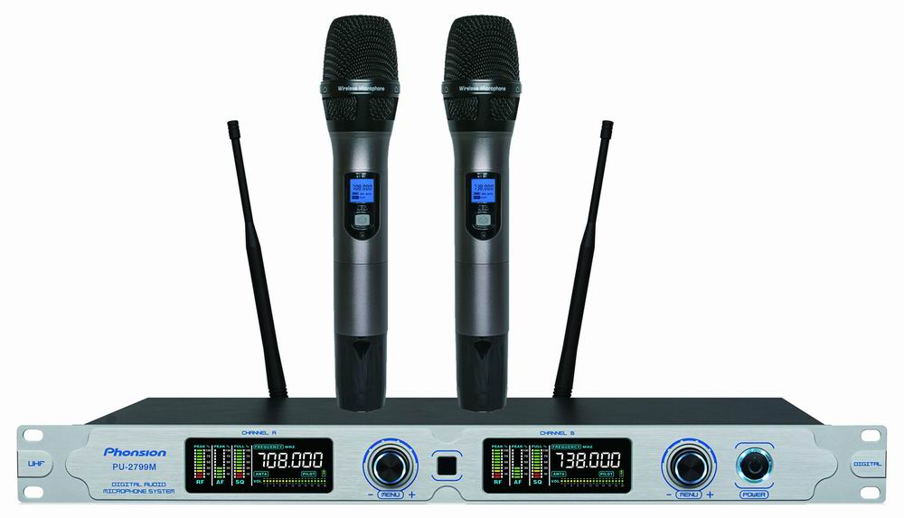 PU-2799M UHF wireless microphone
