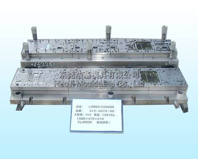 Automotive Die-Precise Progressive Die for Stamping Automobile Parts Used in Well-Known Car AMSD-015