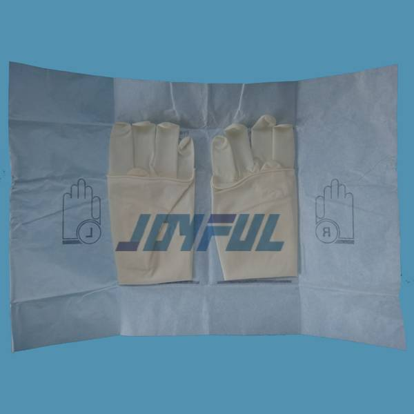 High Quality Disposable Powder Free and Powdered Sterile Latex Surgical Gloves with Good Price