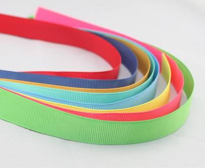 Plain color Grosgrain ribbon IN STOCK
