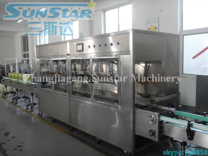 Automatic Oil Weighting Filling Machine