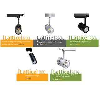 High Power LED Track Light(Lattice Series)