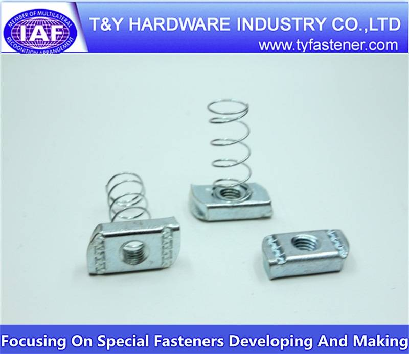 stainless steel spring nuts