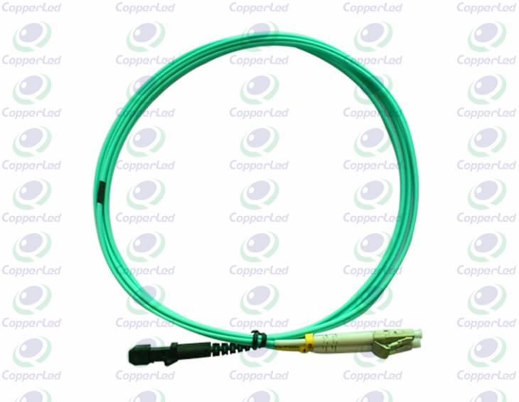 CL-PMTLC-O3D Multimode Duplex MTRJ/PC-LC/PC Fiber Optic Patch Cord OM3 2mm