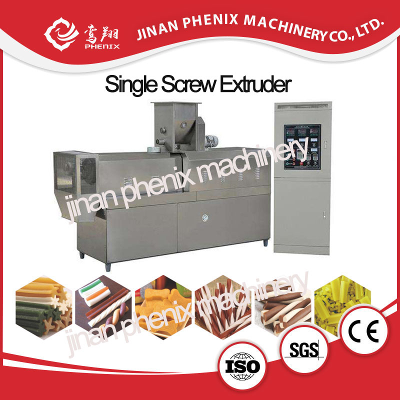 single screw extruder making machine for pet chews