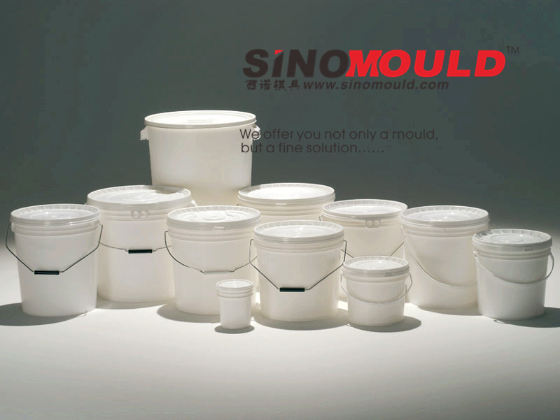 20L IML Paint Bucket Mould