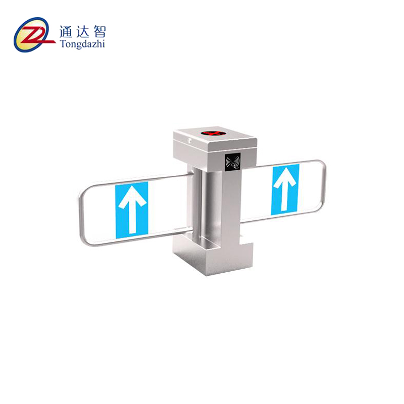 stainless steel Bridge type swing gate for supermarket