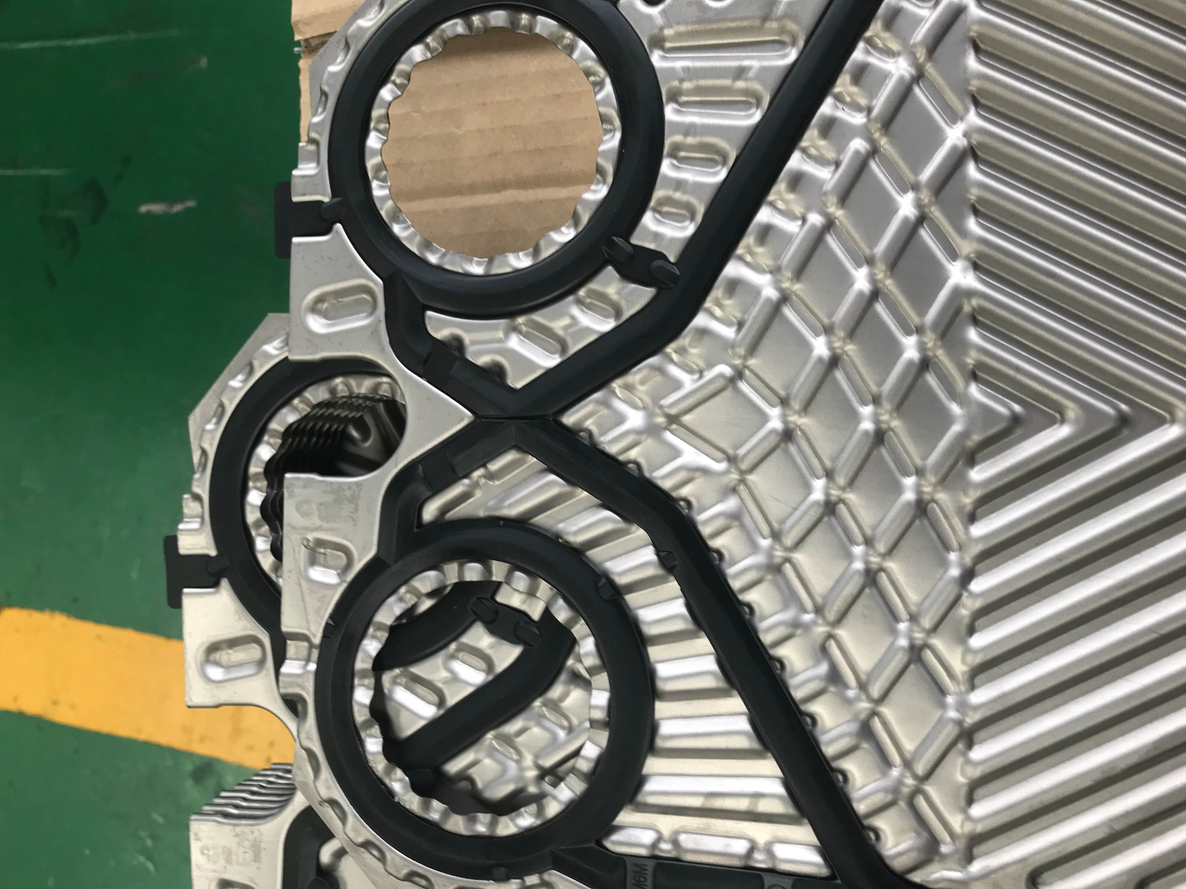 alfa laval PHE plate heat exchanger plates ss304 ss316L ss904 0.5mm 0.6mm water to water industrial
