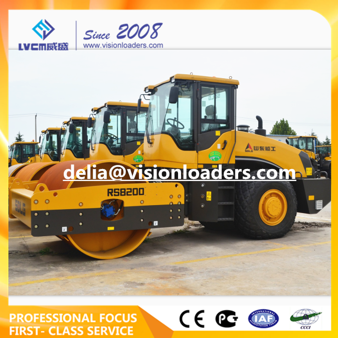 SDLG Vibratory Road Roller RS8200 China RS8200 Road Roller for sale