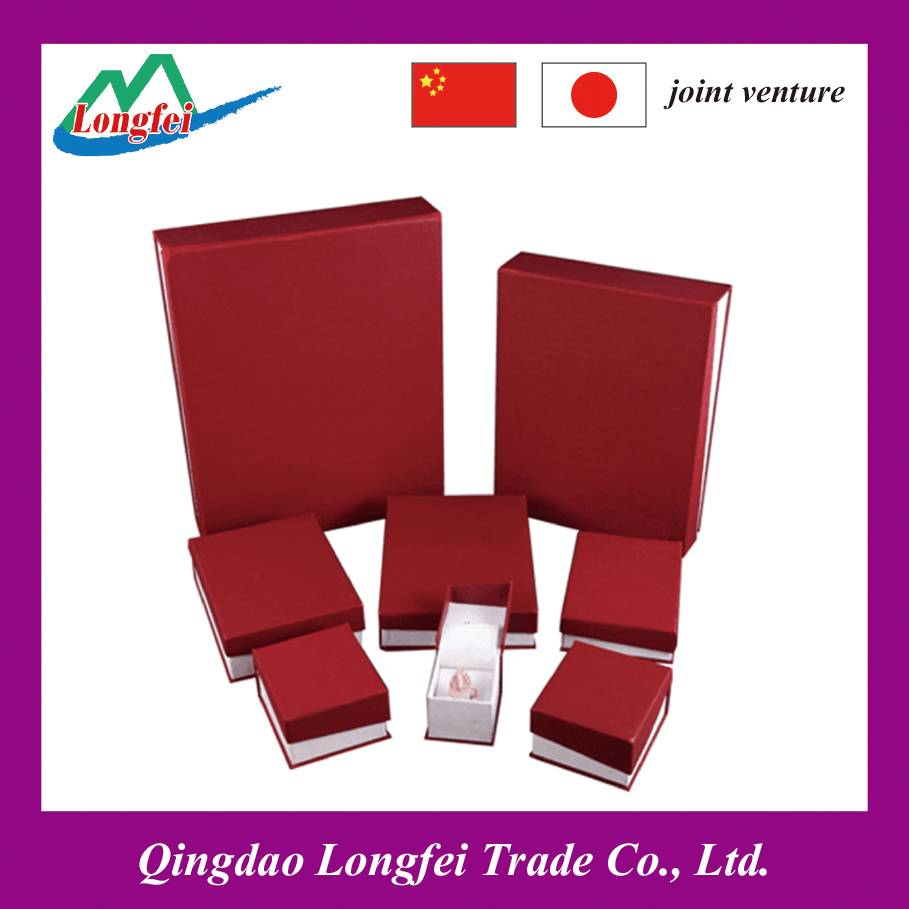 Beauty Red Paper Box/Jewelry Box/Luxury Box/Gift Packing Box