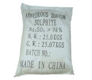 sodium sulphite anhydrious