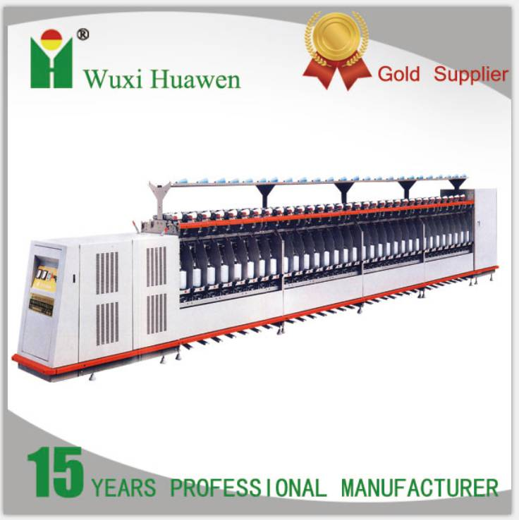 Two for one twisting machine for short fiber (HW363)