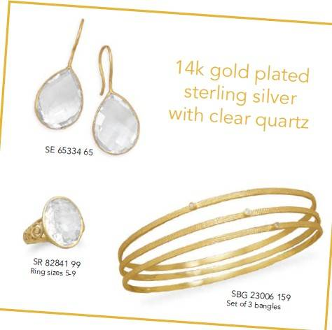 Quartz Jewelry ,Gemstone Jewelry ,Gold Plated Jewelry, Earrings ,Ring ,Bangle