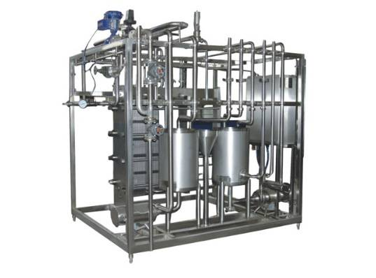 Plate pasteurizer