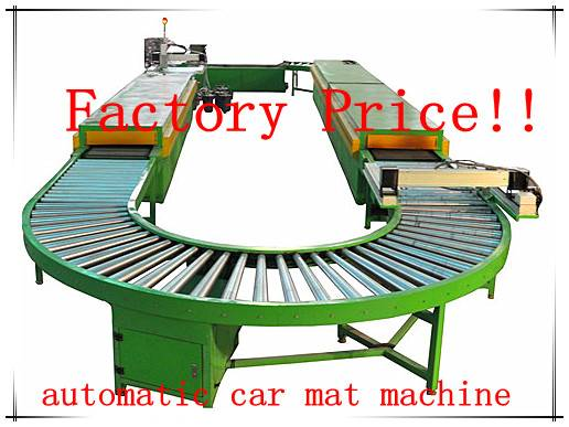 Plastic car floor mat machine (rich experience)