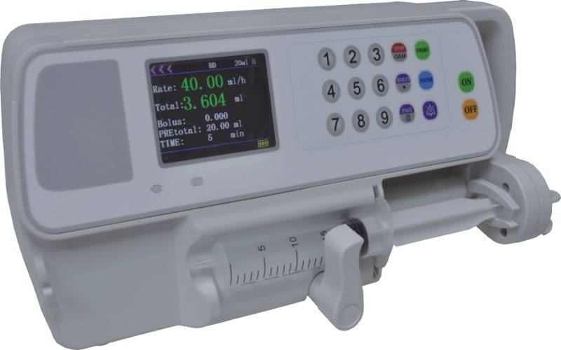 Single Channel Syringe Pump with CE Approval