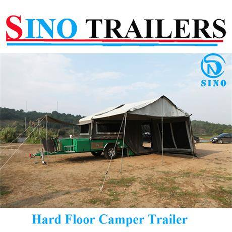 Australian High Quality Rear Open Powder Coating Camper Trailer