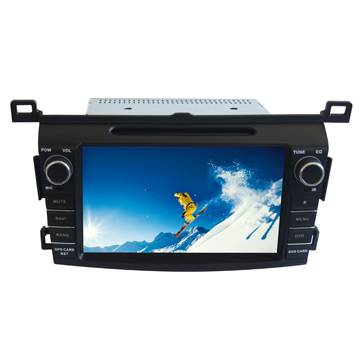 Android TOYOTA RVA4 2014 Dual core 8 Inch In-dash Auto DVD GPS HD Video Touch Screen iPod 3G Wifi St