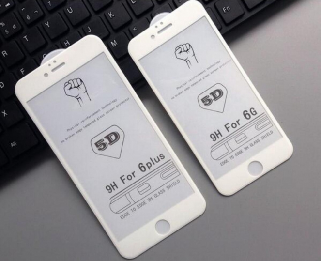 For iPhone 6/7 5D tempered glass full screen protector High quality-DSDIA