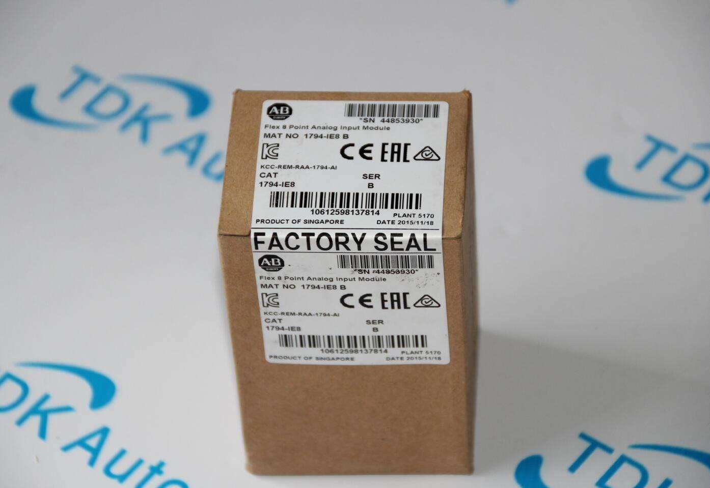 AB PLC Rockwell Contrologix PLC 1794-IE8 Allen Bradley