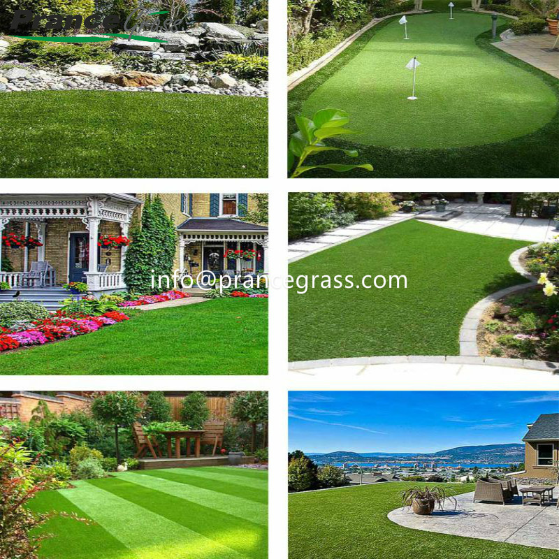 12mm Realistic and Durable Artificial Grass for Golf Putting Greens