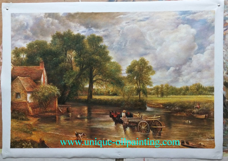 classical oil painting