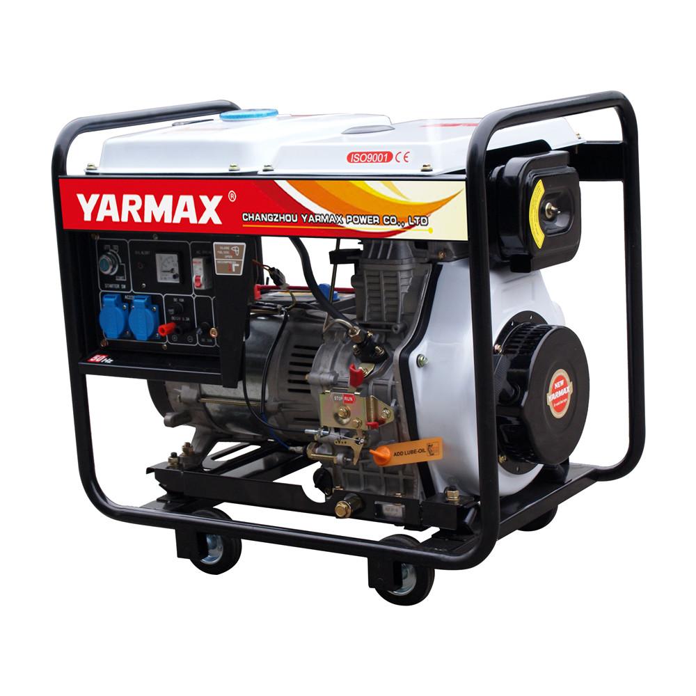 6kVA Open Type Air Cooled Diesel Generators