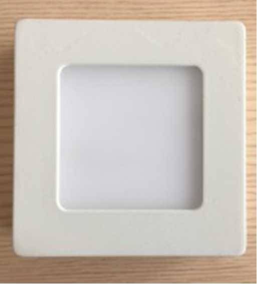 4IN LED square panel light 6w
