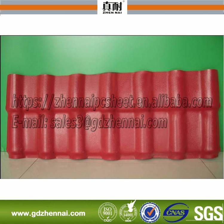 Hot sale plastic corrugated sheet