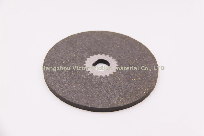 Electromagnetic clutch pad