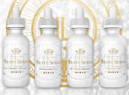 KILO WHITE SERIES BY KILO E-LIQUIDS - 60ML