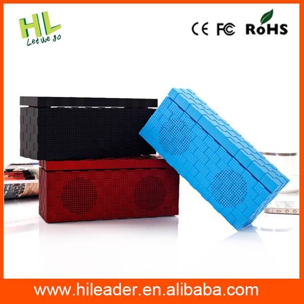 2015 New Arrival Wireless Fashion Portable Bluetooth Speaker