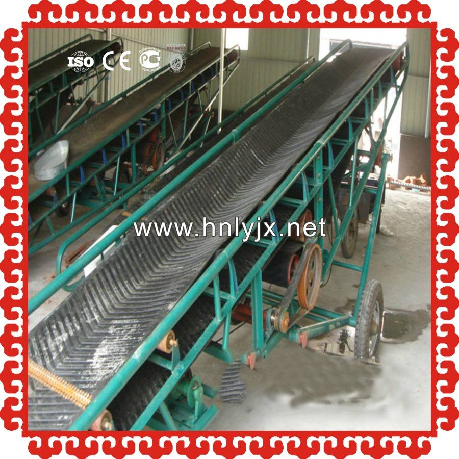spring discount belt conveyor to convey corn, wheat, rice, sand, mud