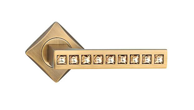 high quality zinc alloy rosette handle